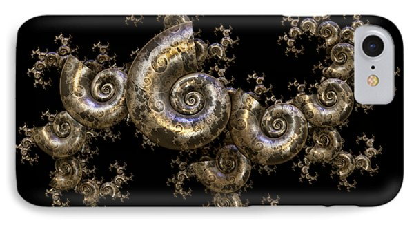 Shell Fractal Dragon IPhone Case