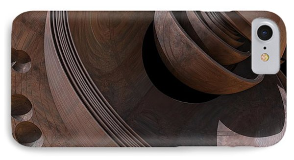 IPhone Case featuring the digital art Shell Game by Lyle Hatch