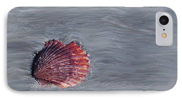 Shell Imprint Phone Case by Linda Sannuti