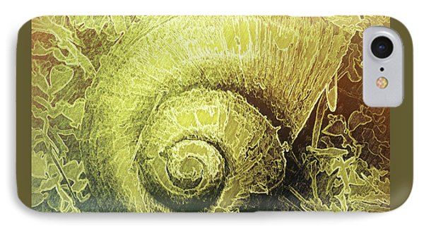 Shell Series 4 IPhone Case by Marvin Spates