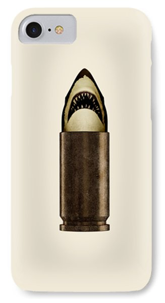 Shell Shark IPhone Case by Nicholas Ely