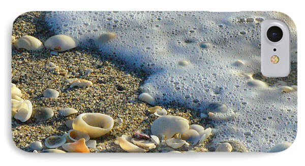 Shells And Seafoam IPhone Case
