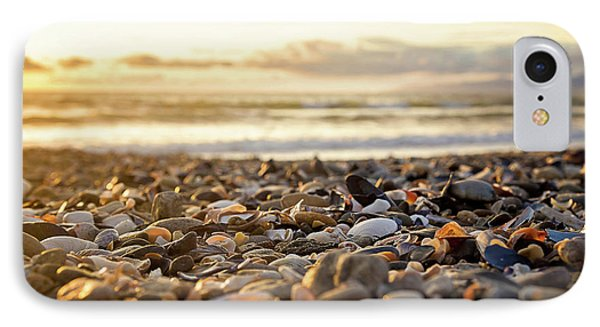 IPhone Case featuring the photograph Shells At Sunset by April Reppucci
