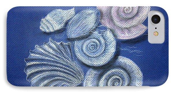 Shells Phone Case by Barbara Teller