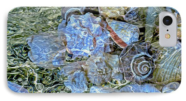 Shells Underwater 20 IPhone Case by Lynda Lehmann