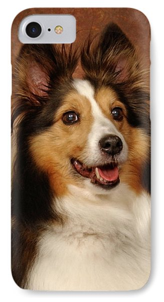IPhone Case featuring the photograph Sheltie by Greg Mimbs