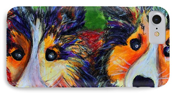 Sheltie- Whisper And Secret IPhone Case