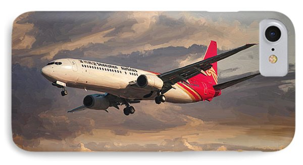 Shenzhen Airlines Boeing 737-900 Landing IPhone Case