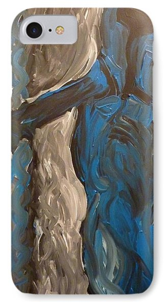 IPhone Case featuring the painting Shepherd by Joshua Redman