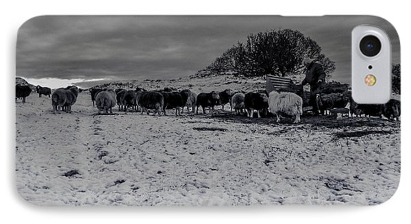 Shepherds Work IPhone Case by Keith Elliott
