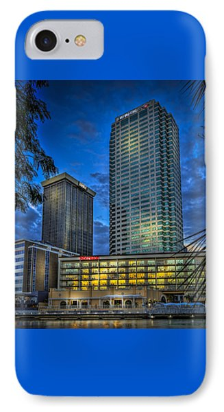 Sheraton Water Front IPhone Case by Marvin Spates