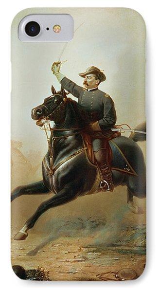 Sheridan's Ride IPhone Case by Thomas Buchanan Read
