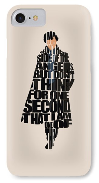 Sherlock - Benedict Cumberbatch IPhone Case