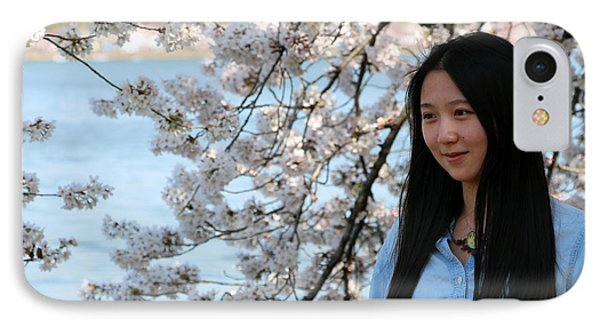 She's As Pretty As The Cherry Blossoms IPhone Case