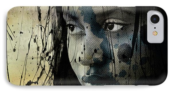 She's Out Of My Life  IPhone Case by Paul Lovering