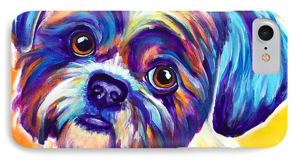 Shih Tzu - Dreamy IPhone Case by Alicia VanNoy Call