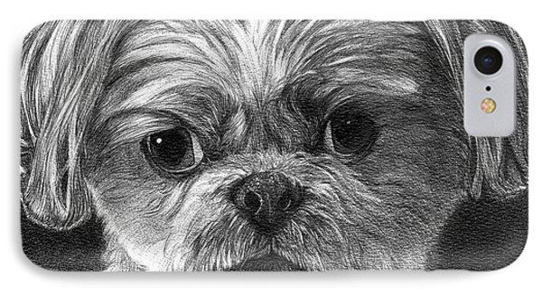 Indy IPhone Case by Faithful Faces Pet Portraits