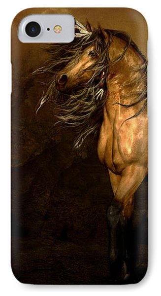 Shikoba Choctaw Horse Phone Case by Shanina Conway