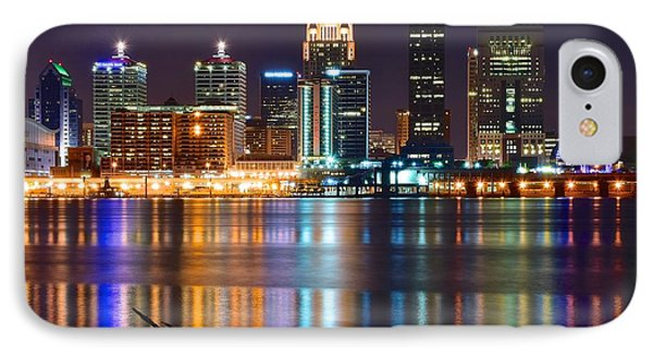 Shimmering Lights Of Louisville IPhone Case by Frozen in Time Fine Art Photography