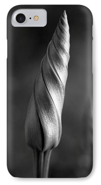 Shimmering Moonflower Bud IPhone Case