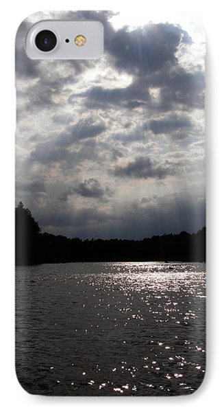 Shine On IPhone Case by Angie Rea