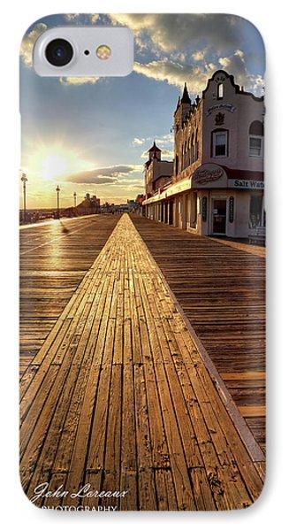 Shining Walkway IPhone Case by John Loreaux