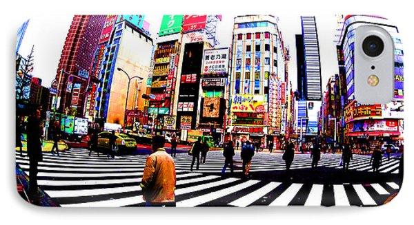 Shinjuku Tokyo IPhone Case by Jera Sky