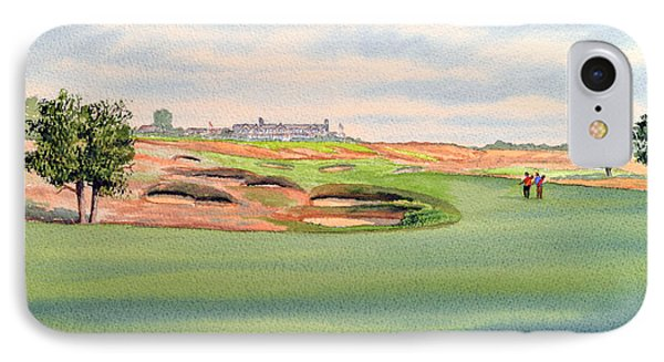 Shinnecock Hills Golf Course Phone Case by Bill Holkham