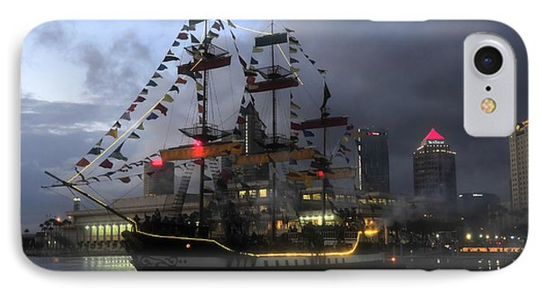 Ship In The Bay IPhone Case by David Lee Thompson