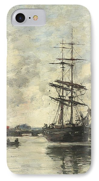 Ship On The Touques IPhone Case