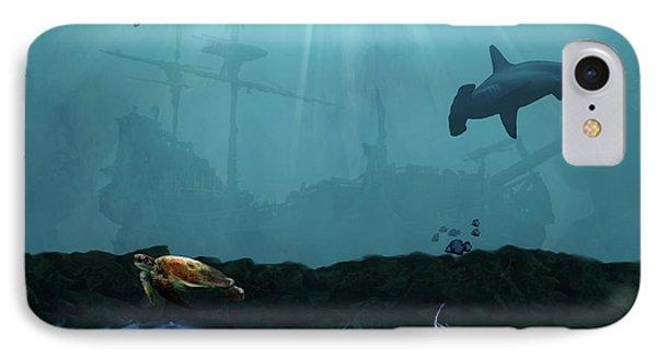 Ship Wreck Reef IPhone Case