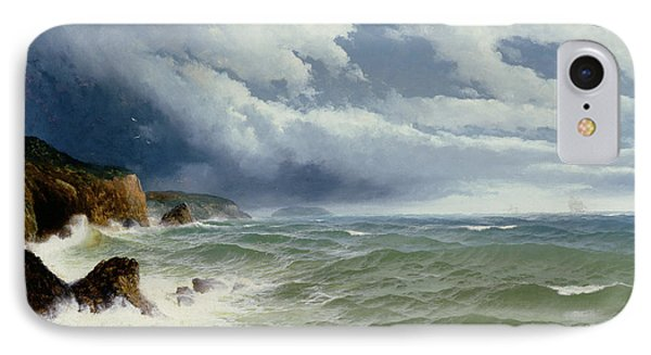 Shipping In Open Seas IPhone Case by David James
