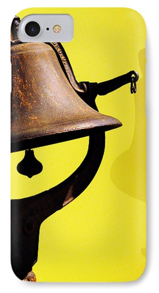 Ship's Bell Phone Case by Rebecca Sherman