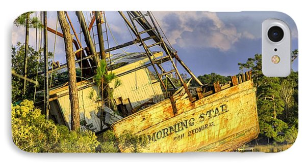 Shipwreck Of The Morning Star IPhone Case