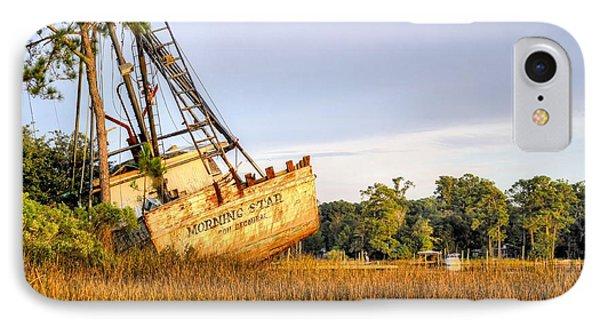 Shipwrecked In Bon Secour IPhone Case