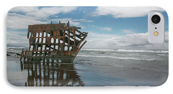 IPhone Case featuring the photograph Shipwreck by Elvira Butler