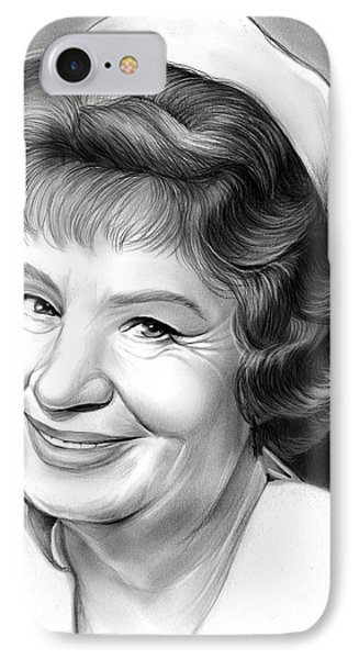 Shirley Booth IPhone Case by Greg Joens