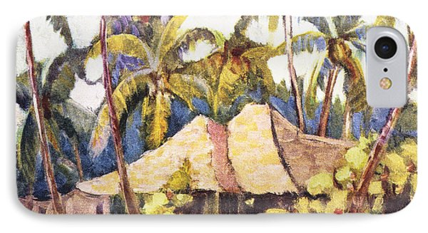 Shirley Russell Art Phone Case by Hawaiian Legacy Archive - Printscapes