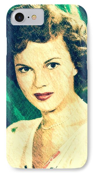 Shirley Temple iPhone 7 Case - Shirley Temple By John Springfield by John Springfield