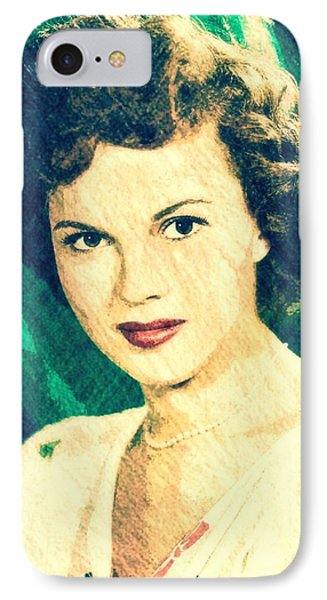 Shirley Temple By John Springfield IPhone Case by John Springfield