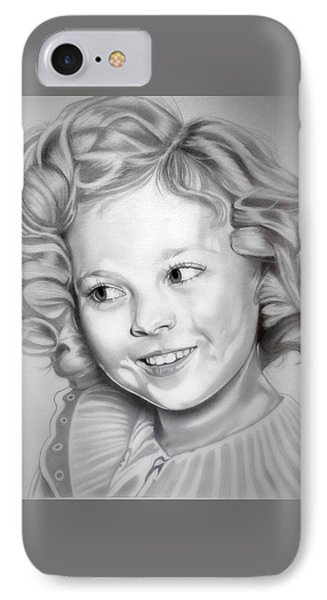 Shirley Temple IPhone Case by Fred Larucci