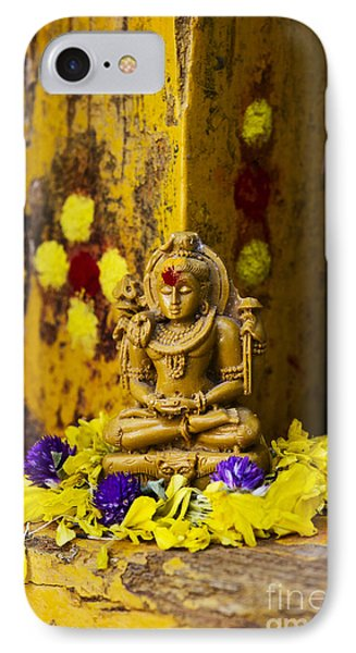 Shiva Devotion IPhone Case by Tim Gainey