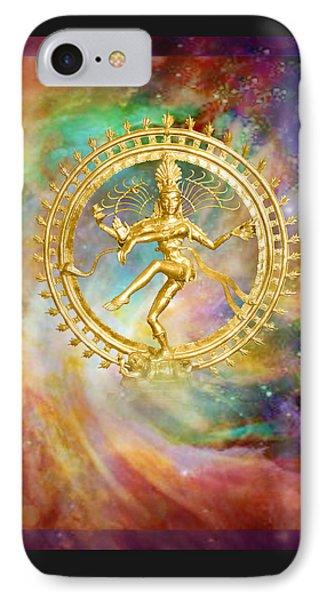 Shiva Nataraja - The Lord Of The Dance Phone Case by Ananda Vdovic