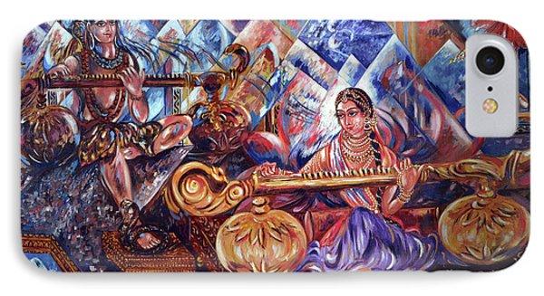 Shiva Parvati IPhone Case
