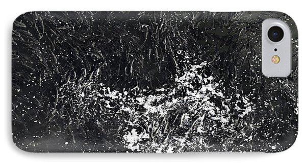 Shoal Of Fish Monochrome IPhone Case