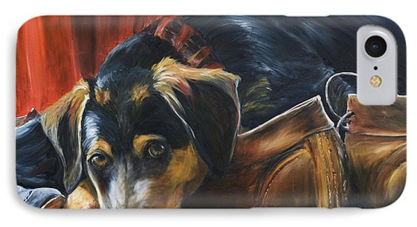 Shoe Dog Phone Case by Nik Helbig