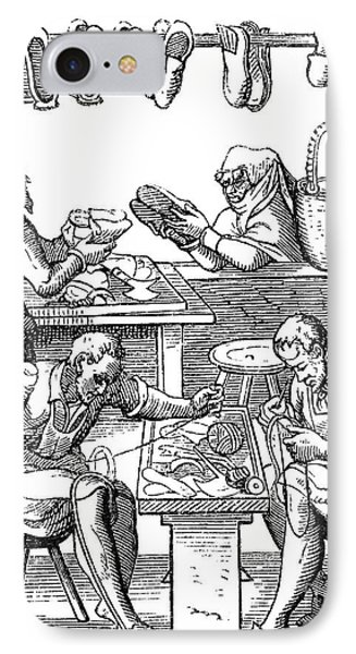 Shoemakers, 16th Century IPhone Case