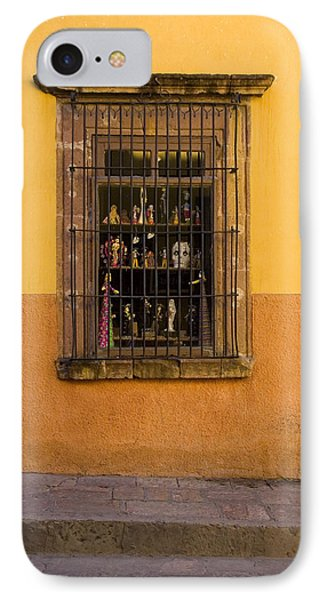 Shop Window San Miguel De Allende IPhone Case by Carol Leigh