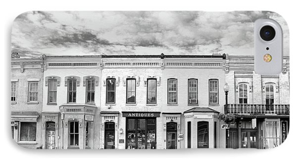 IPhone Case featuring the photograph Shops by Mitch Cat