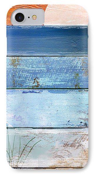 Shore And Sunset IPhone Case by Mindy Sommers